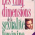 The Five Dimensions of female sexuality