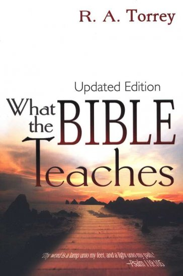 What The Bible Teaches Updated Version