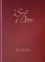 Bible Segond avec onglet