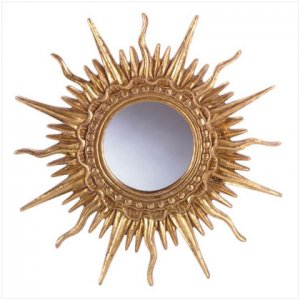 fancy sun mirror