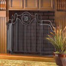 Tuscan-design fireplace screen