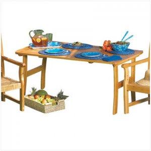 pine wood picnic table