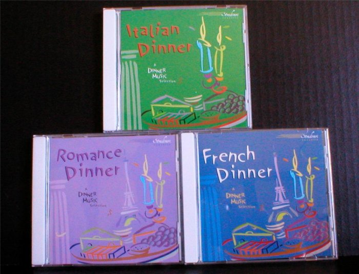 Romantic Dinner Music Set Stradivari