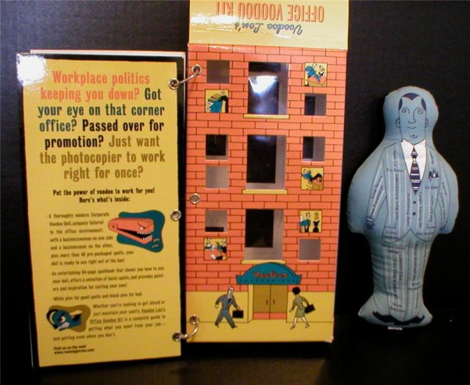 Voodoo Lou's Office Voodoo Kit - Fun Novelty Gift