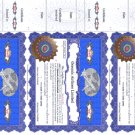 Business Card Certificate
