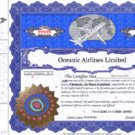 Oceanic Preferred Share Certificate