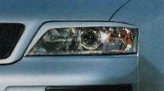 Audi A6 98-03 Headlight Eyelids Paintable Polyurathane  Also available Carbon Fiber