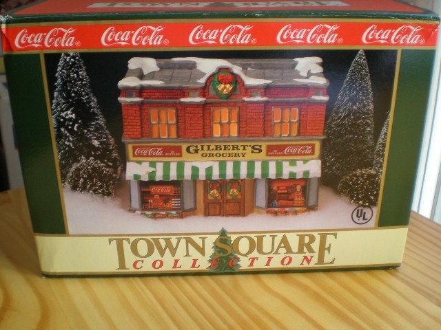Coca-Cola Town Square Collection Gilberts Grocery 1992