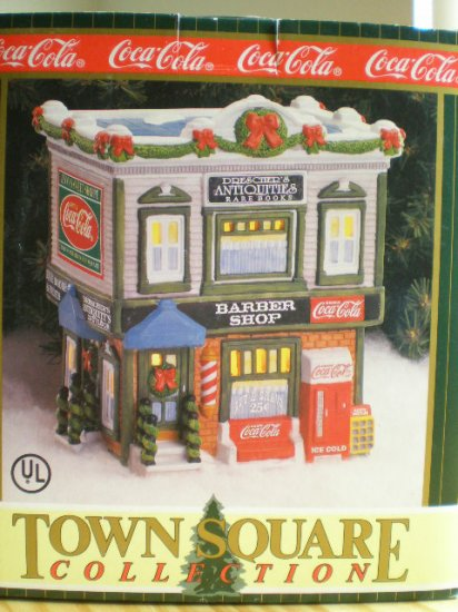 Coca-Cola Town Square Town Barber Shop 1996