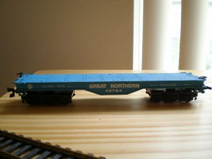 Bachman HO Great Northern Log Hauler #42764