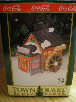 Coca-Cola Town Square Collection Grist Mill Restaurant 1995