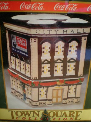 Coca-Cola Town Square Collection City Hall 1993