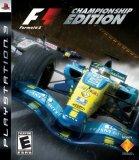 F1: Formula One Championship Edition (Playstation 3)