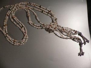 Necklace Fresh Water Pearls Wrap Lariat
