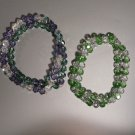 Bracelet Lavender and Green Swarovski