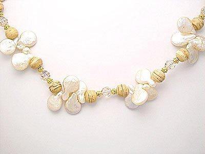"Kashi Pearls & Swarovski Crystal 35"""""