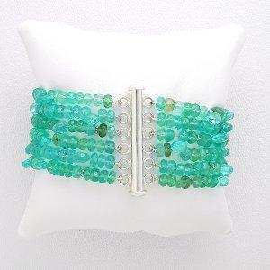 Blue Green Appetite Cuff Bracelet
