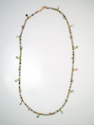 "26"" Pale Tourmaline Necklace"