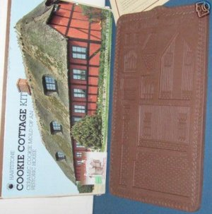 Hartstone Cookie Cottage Kit; Victorian Fort Dalles Quarters