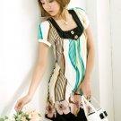 Green Classic Prints Dress