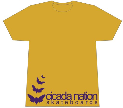 Cicada Nation - Cicada Nation T Shirt Small #CNTCNSBS