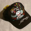 "ED HARDY DEATH OR GLORY TRUCKER HAT ""BLACK"""
