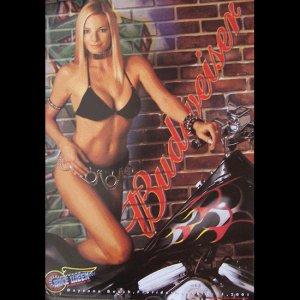 Bike Week 2001 Bud Motorcycle Posters