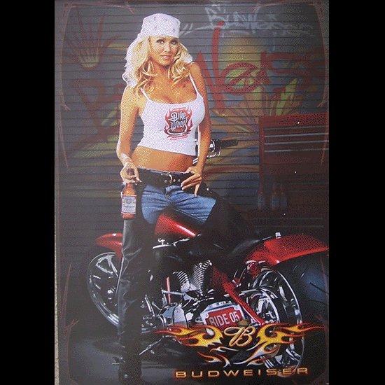 Bike Week 2005 Bud Motorcycle Poster