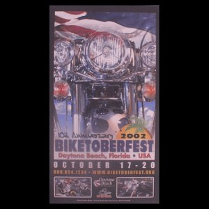 Biketoberfest 2002 Daytona Beach Official Poster