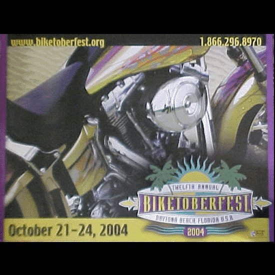Biketoberfest 2004 Official Poster