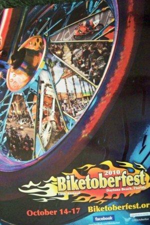 Biketoberfest Official Daytona Beach Poster 2010