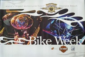 Daytona Beach Bike Week Official 2007 Motorcycle Poster