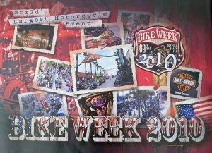 Bike Week 2010 Daytona Beach Official Motorcycle Biker Posters