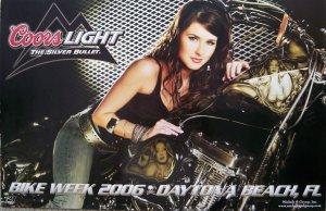 Coors Light Bike Week 2006 Poster