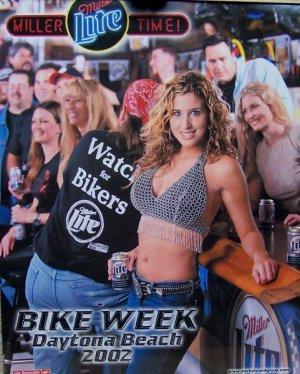 Poster Bike Week Daytona Beach 2002