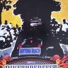 Biketoberfest 2011 Motorcycle Biker Official Posters Daytona Beach
