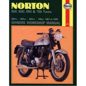 Norton Owners Workshop Manual 500 600 650 & 750 Twins