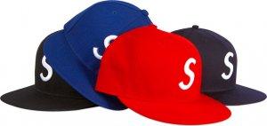 """""""S"""" logo sports cap"""