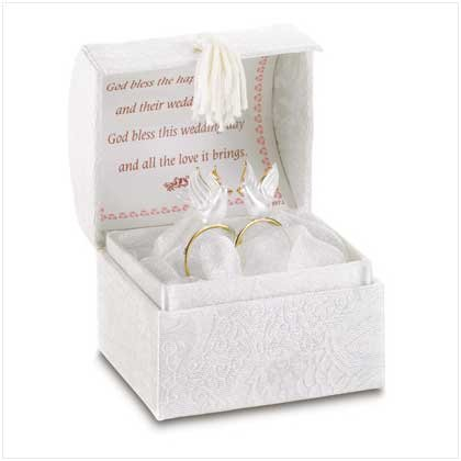 WEDDING TREASURE BOX W/ RINGS - Code: 38578