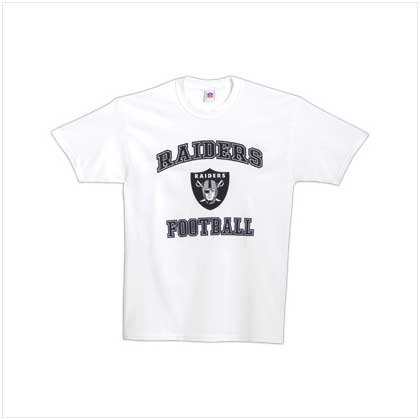 NFL Oakland Raiders Tee Shirt - Large - Code: 38133