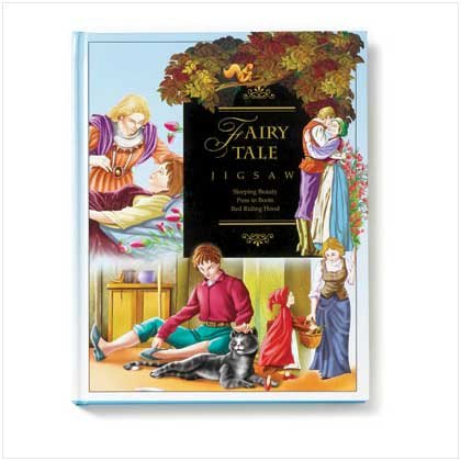 Fairy Tale Puzzle Book - Code: 36447