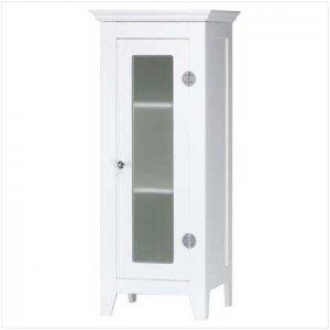 Wood Cabinet With Glass Door - Code: 35012
