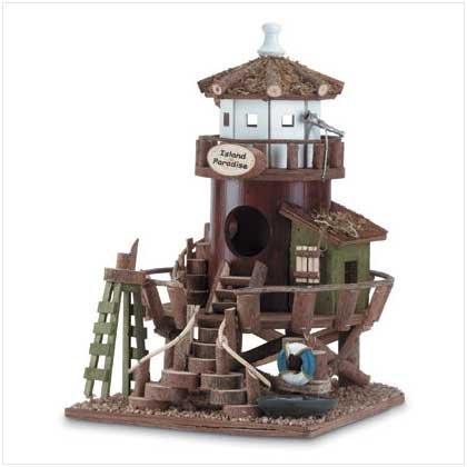 Wood Island Birdhouse - Code: 34716