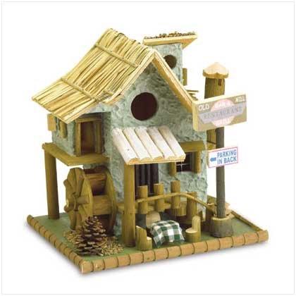 Old Mill Restaurant Bird House - Code: 37919
