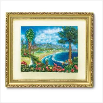 BEACHFRONT SPLENDOR WALL ART - Code: 38808