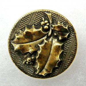 Holly, NBS Medium brass button