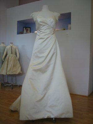 Vintage Inspired Silk Satin Gown