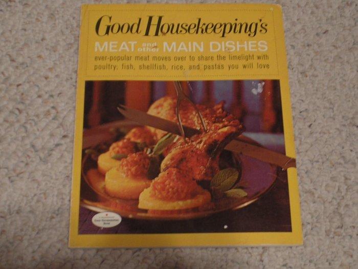 Vintage 1967 Good Housekeeping Cookbook