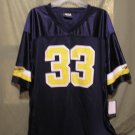 New University of Toledo Rockets Blue Football Jersey