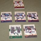 15 Fleer Genuine NFL Trading Cards